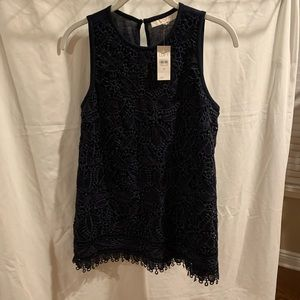 Brand new with tag loft lace top